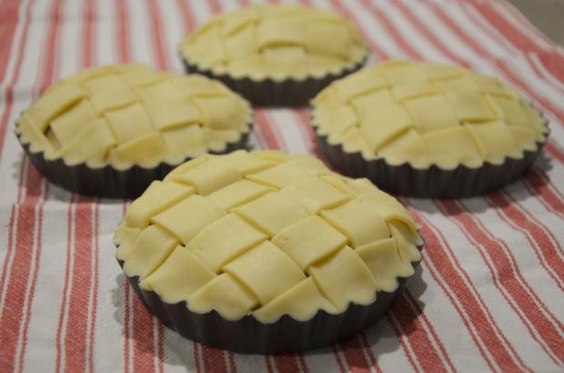 Vegan Apple Pie - Lattice