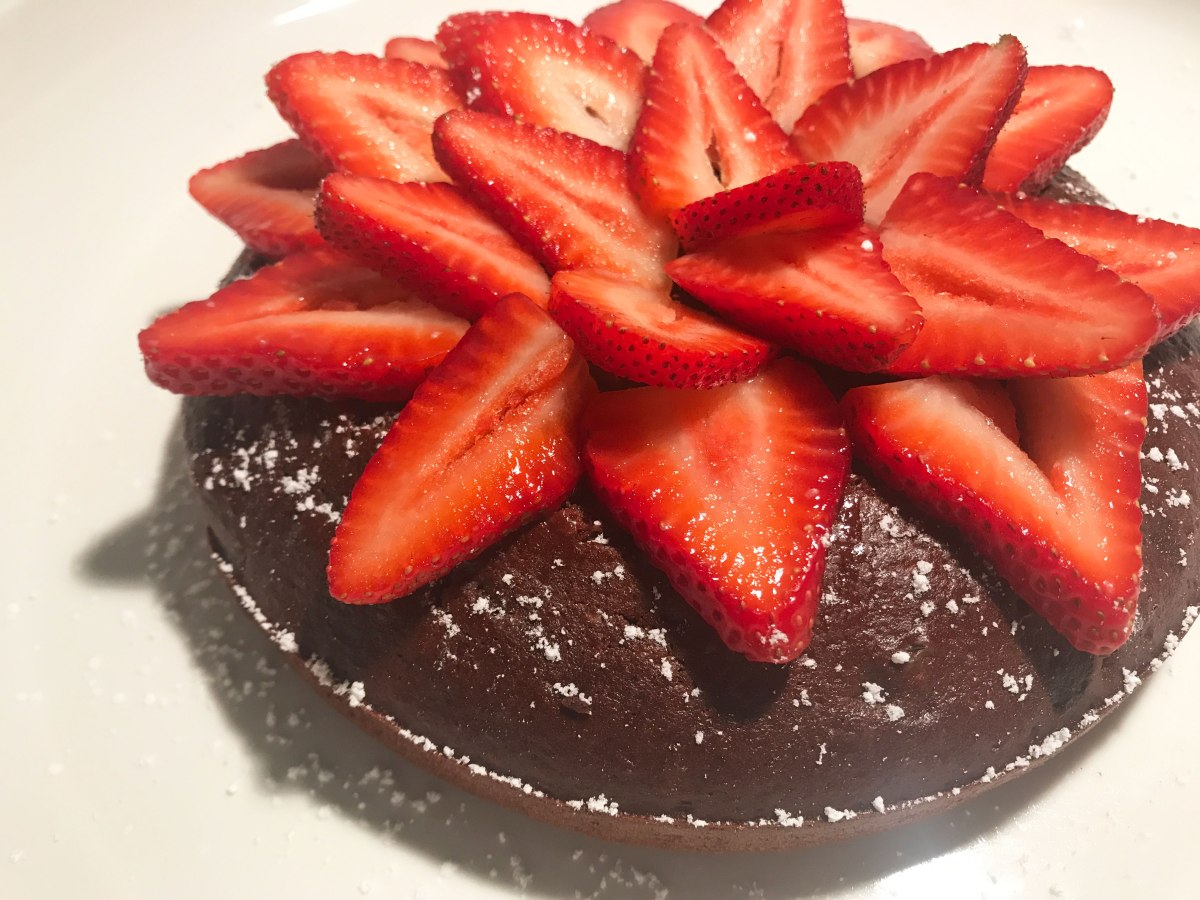 3 Minute Chocolate Cake